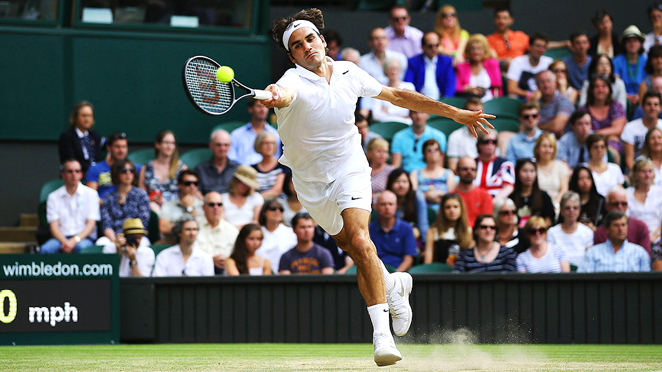 Roger Federer advanced to his 35th semifinal at a Grand Slam with his victory over Stanislas Wawrinka.