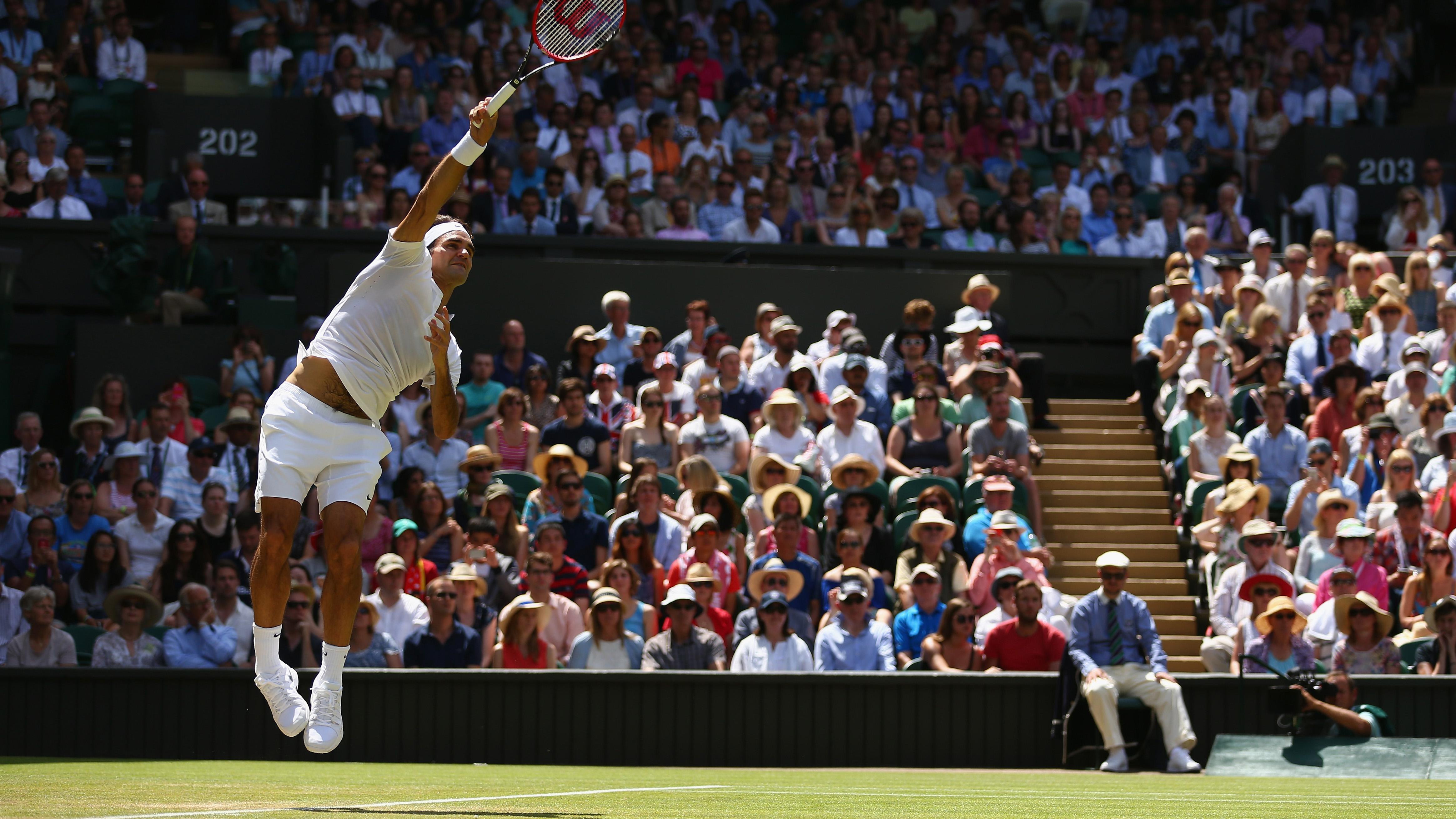 Daily Data Viz: Roger Federer serve stats at Wimbledon | SI.com