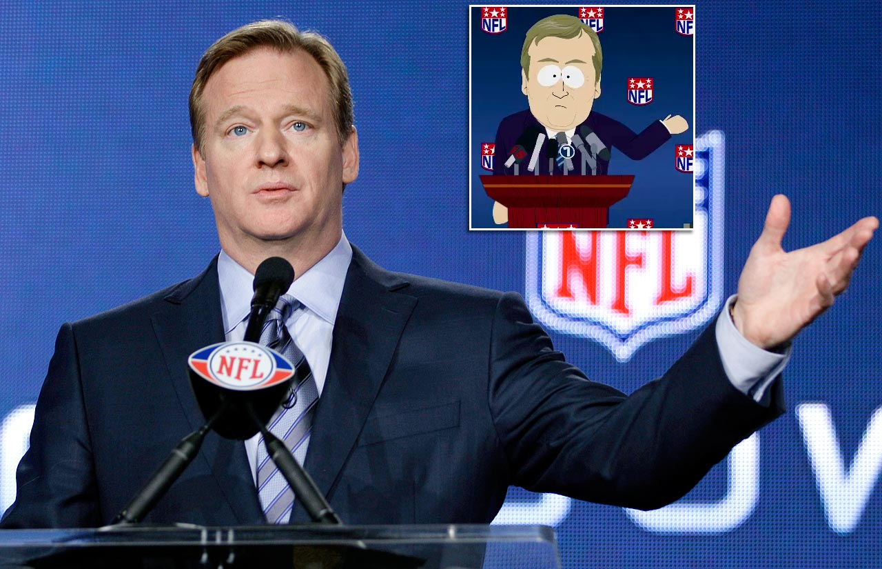 "Episode: ""Sarcastaball"" (Original Air Date: Sept. 26, 2012) —  Goodell introduces the Broncos new coach Randy Marsh, who brings Sarcastaball, a ridiculously safe and emasculating new game he sarcastically created, with him.  