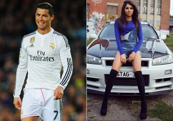 Ronaldo and Aline Lima
