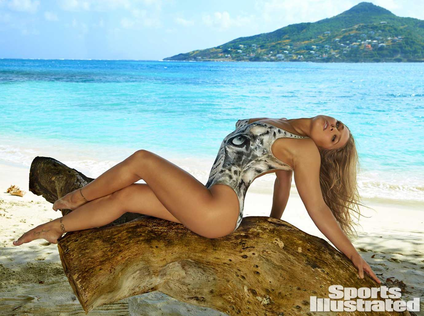 Ronda Rousey: Frederic Pinet for Sports Illustrated