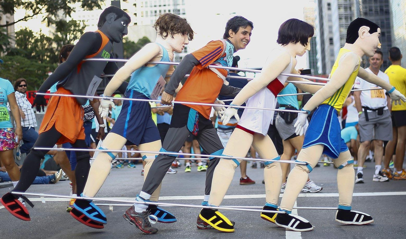 The 90th Sao Silvestre international 15 km race in Sao Paulo, Brazil.