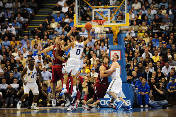 Stanford at UCLA, March 2008