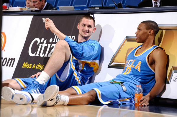 UCLA at Arizona, March 2008 (Russell Westbrook and Kevin Love)
