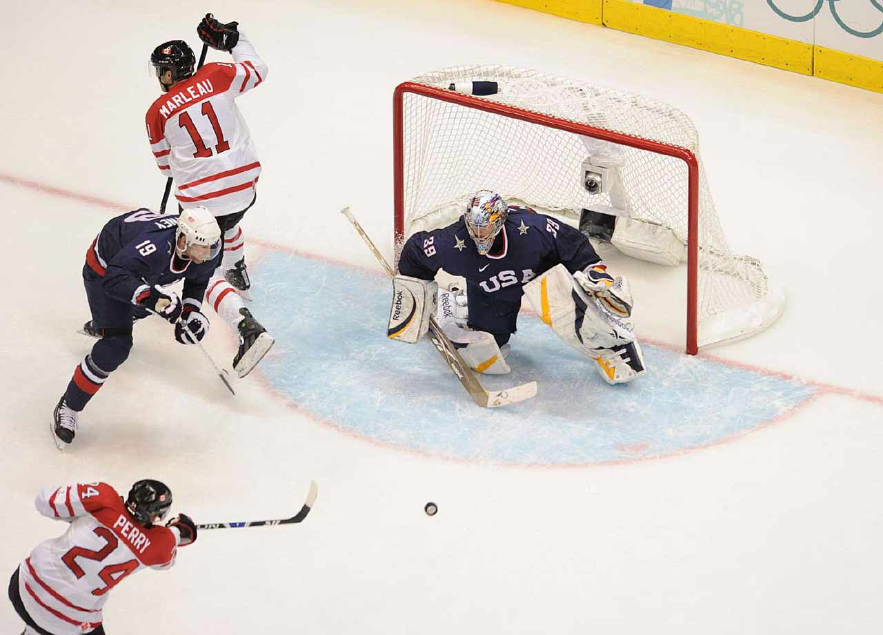 There's no silver medal for Team USA in Vancouver without Miller, who allowed just five even-strength goals in six games for a stunning 1.35 goals-against average and .946 save percentage on his way to winning tournament MVP honors. He saved his best for last, a larcenous 36-save performance against Canada in the finale that keep his team in the game long enough to get them to overtime.