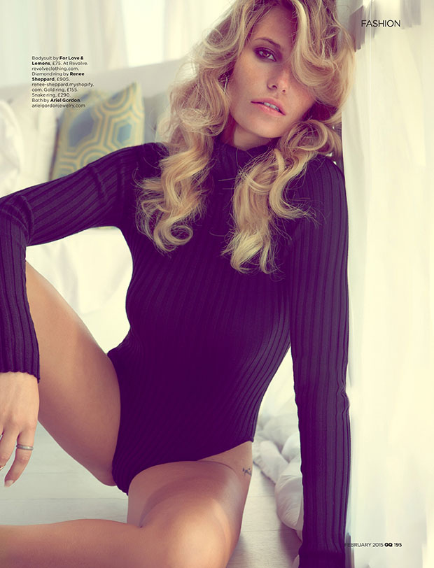 Samantha Hoopes for GQ UK, February 2015