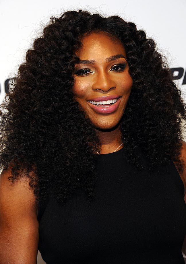 Serena Williams attends the 2015 Taste of Tennis New York at W New York Hotel while in town for the start of the U.S. Open.
