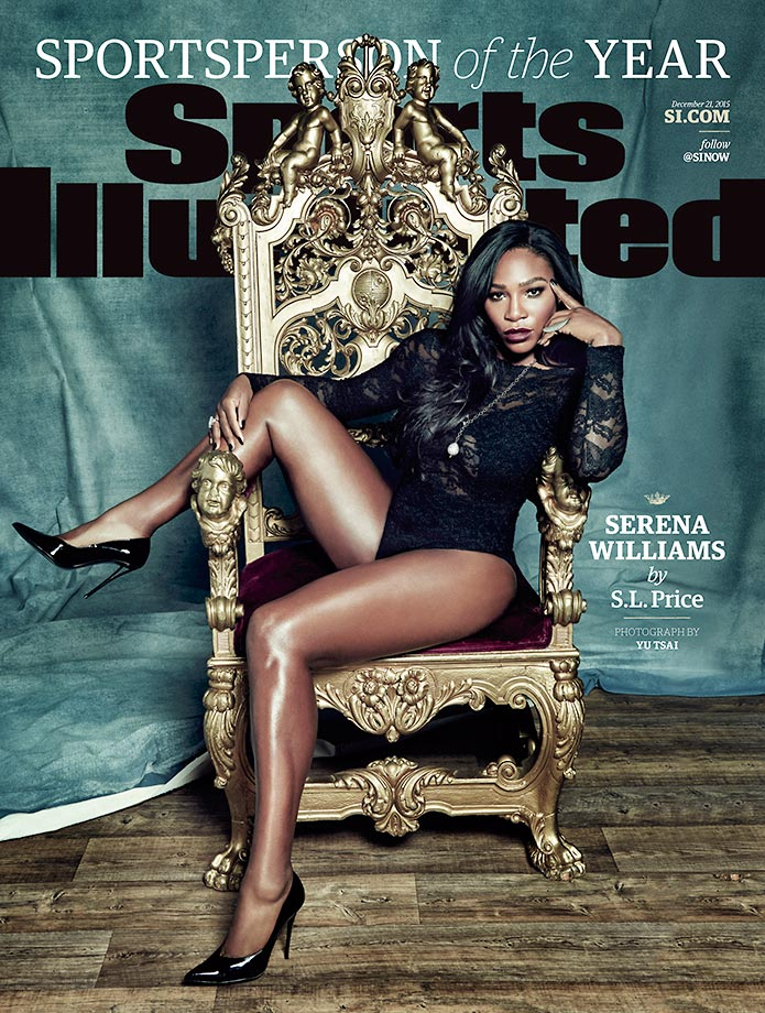 December 21, 2015 | Serena Williams is Sports Illustrated's 2015 Sportsperson of the Year.