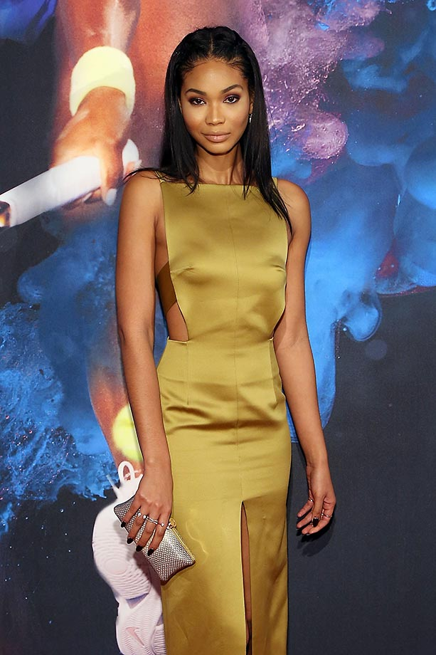 Model Chanel Iman.