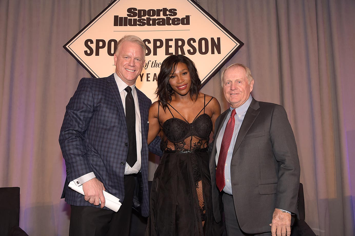 Boomer Esiason, Serena Williams and Jack Nicklaus.