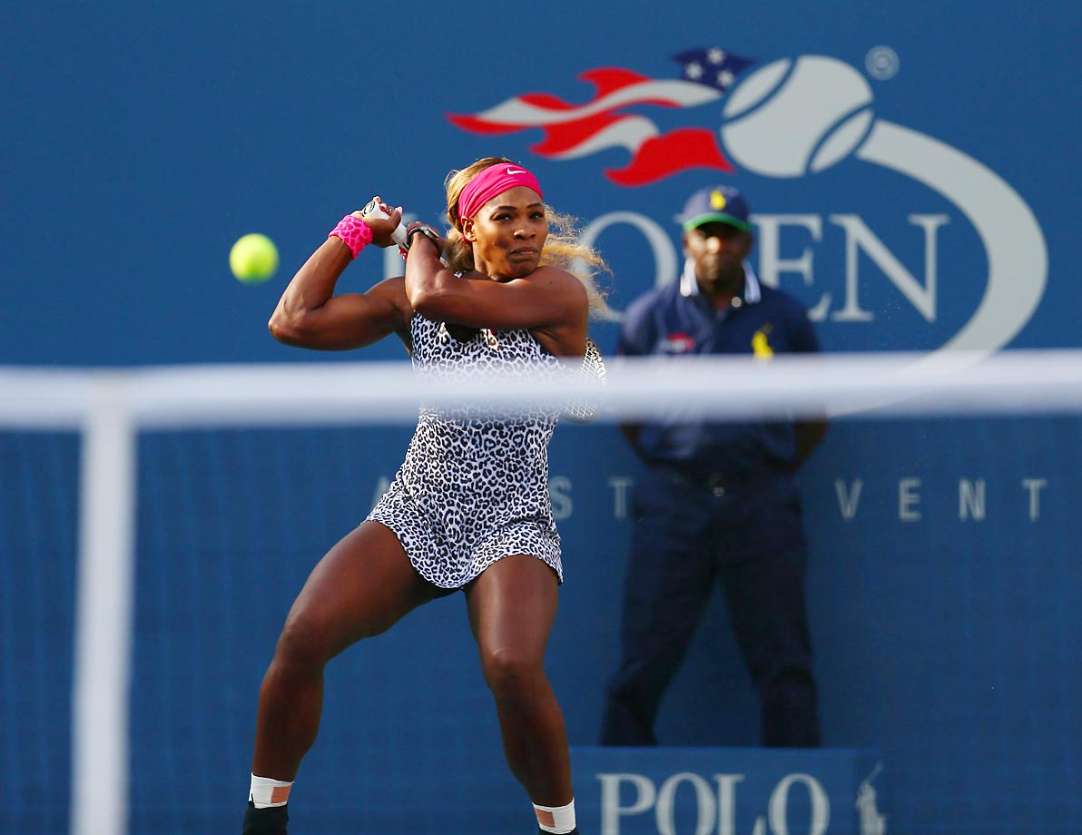 Serena Williams beats Caroline Wozniacki in the U.S. Open for her 18th Grand Slam title.
