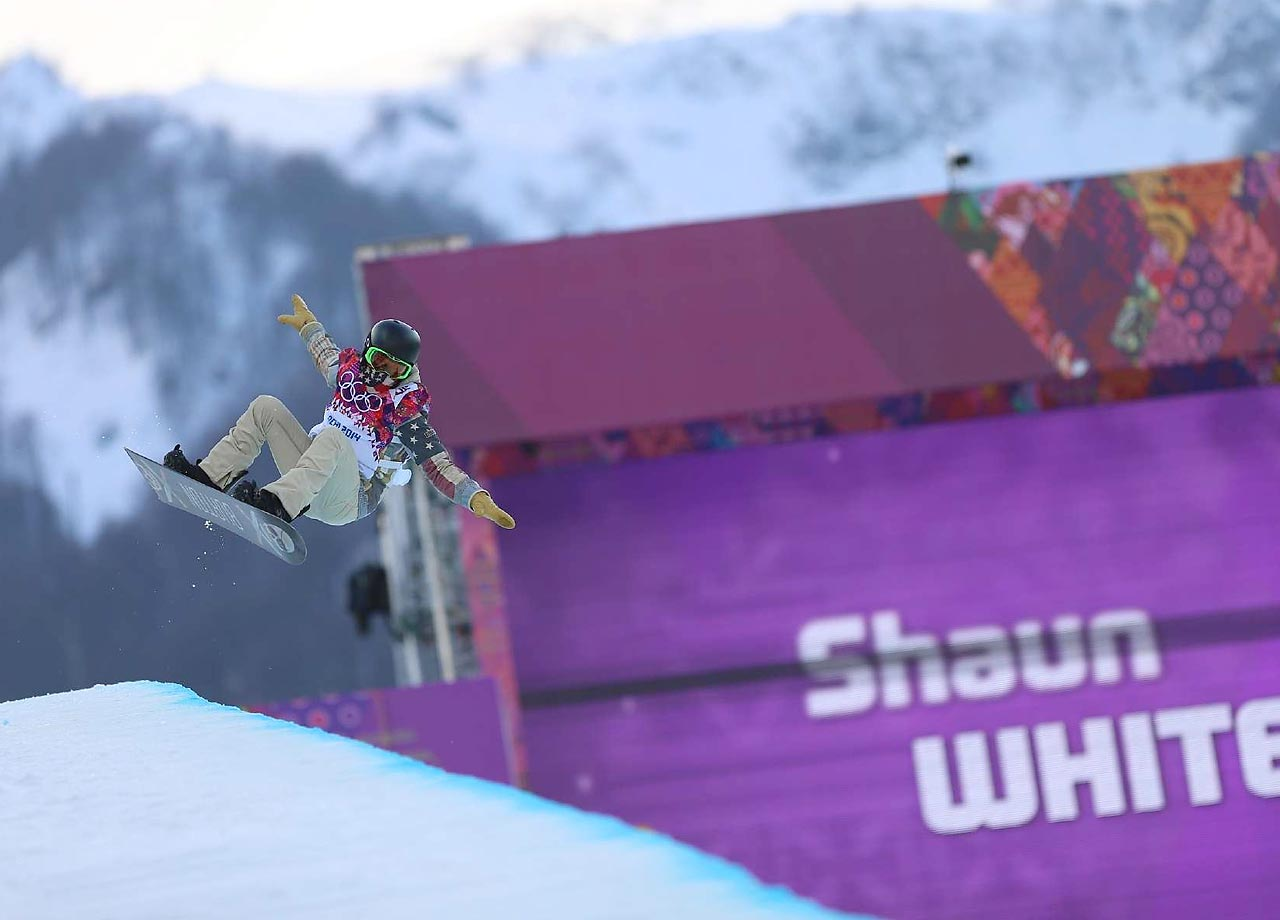 White could nab his third straight gold medal in the halfpipe. He also has won gold in the World Cup on three occasions, in addition to his numerous accolades in the Winter X Games. Shaun White's Facebook page.