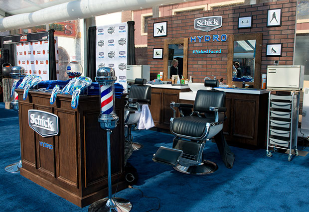Schick shave station at SwimVille