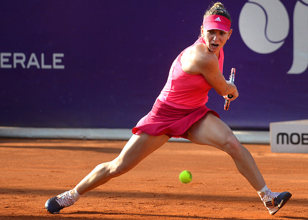 We've said before, Simona Halep is the most graceful, balanced player on the women's tour.