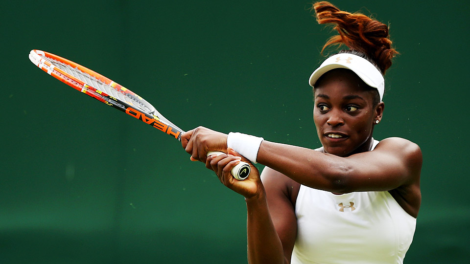 Sloane Stephens is featured in the August issue of Elle magazine.