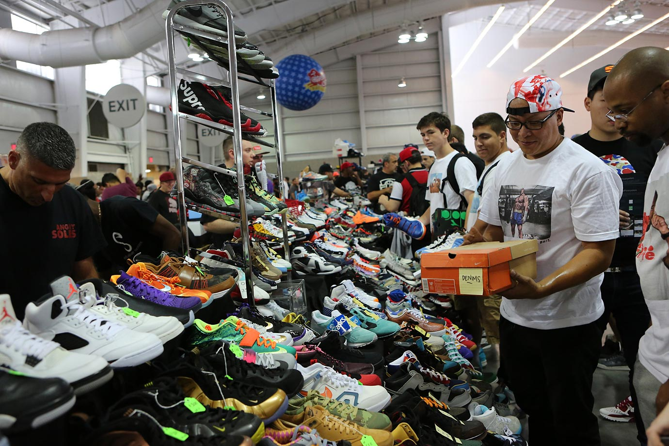 aabe21a69a82 Sneaker Con 2015  The Greatest Sneaker Show on Earth