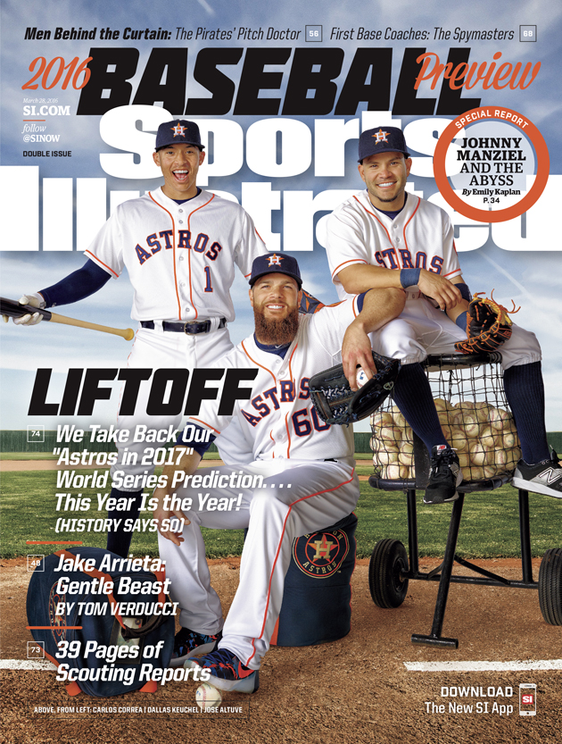How Expensive Is 2014 Sports Illustrated Cover Predicting Astros Would Win  2017 World Series?