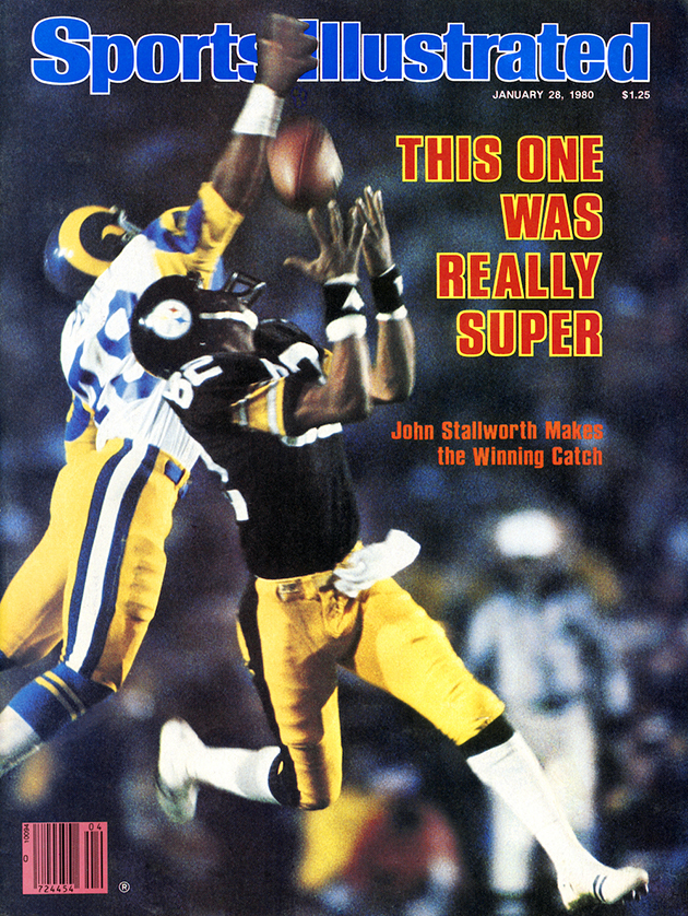 Stallworth earned his MBA while setting Steelers records for receptions and yards.