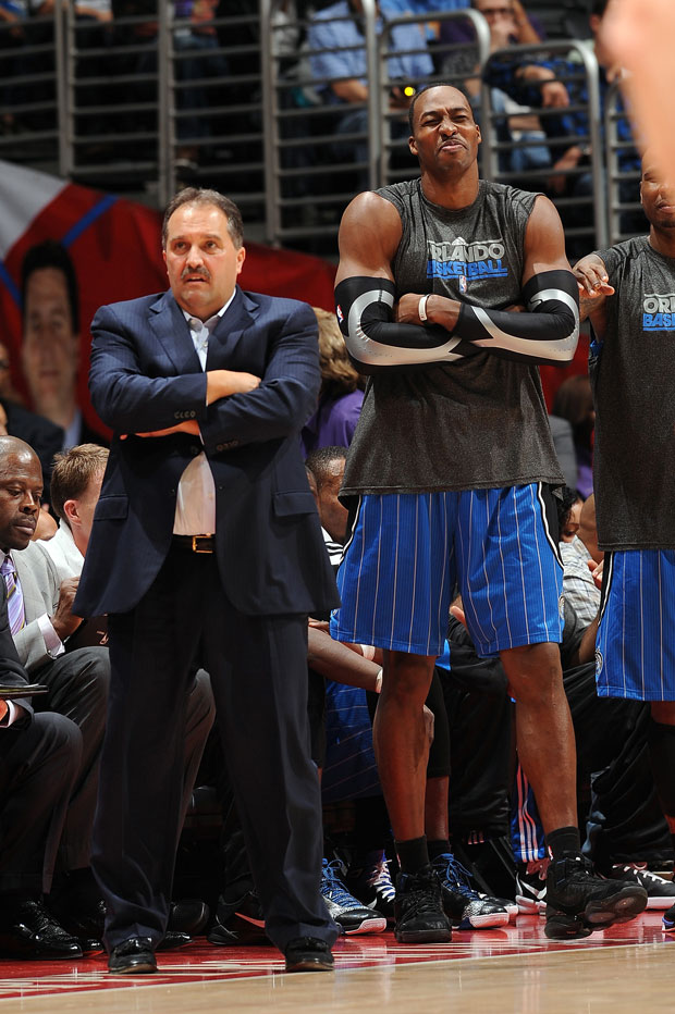 Stan Van Gundy and Dwight Howard :: Getty Images