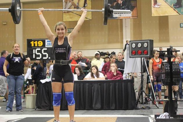 Girl Stronger Than Boy Weight Room