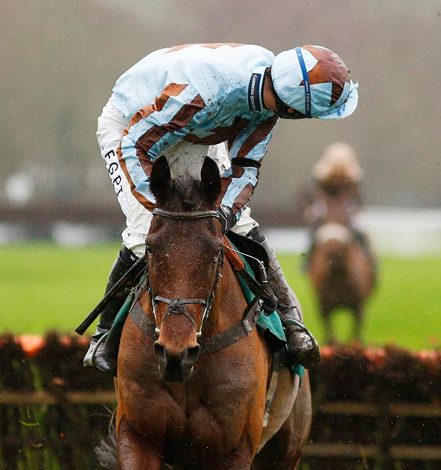 Where did the year go?    Will Kennedy rides Western Warrior to win The Money Back 2nd At titanbet.co.uk Novices' Hurdle Race in Lingfield, England...
