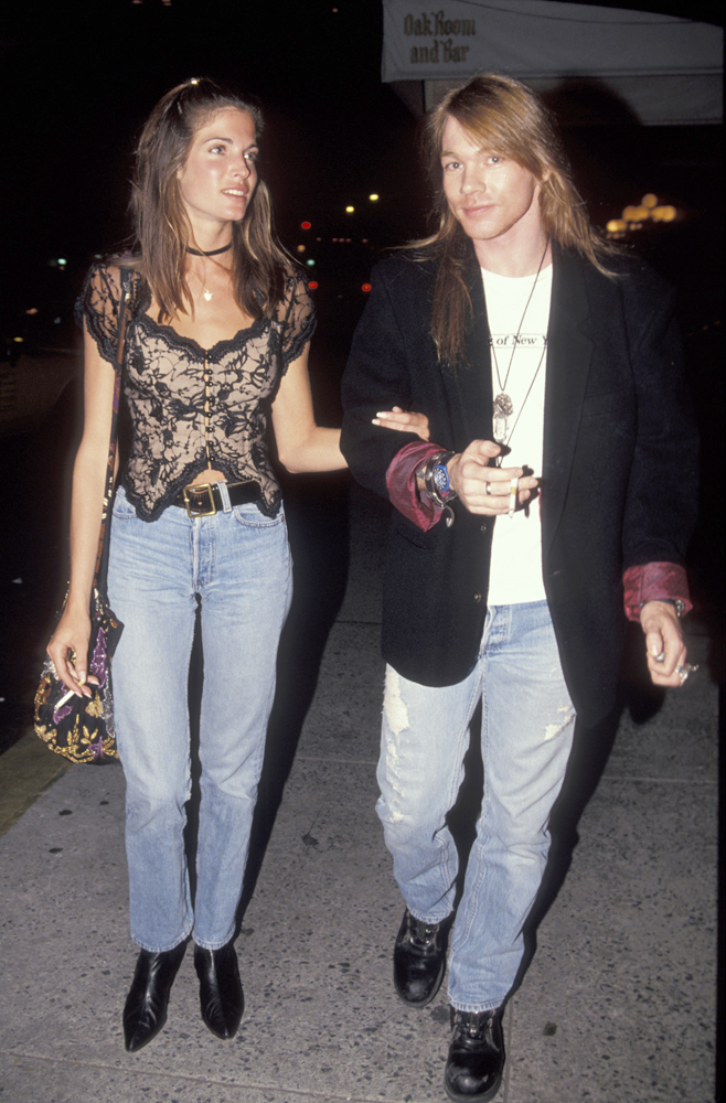 Stephanie Seymour and Axl Rose :: Getty Images