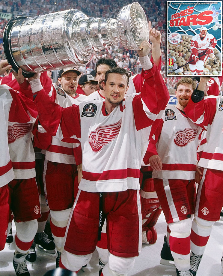 Besides leadership and scoring, the legendary Red Wings captain was good for 13 essential vitamins and minerals.