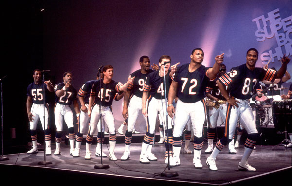 1985 Chicago Bears :: Getty Images