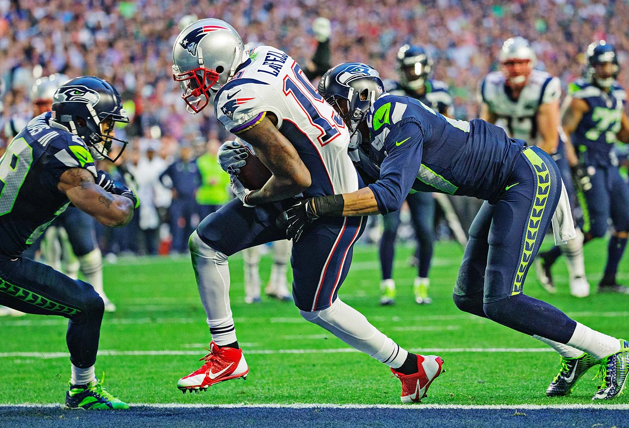 First-year Patriots receiver Brandon LaFell caught one of Tom Brady's four touchdown passes.