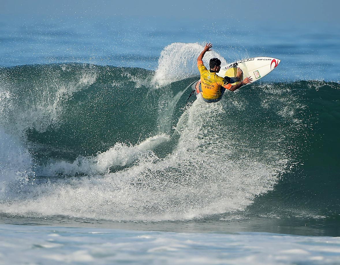Gabriel Medina of Brazil, who is the current ASP points leader.