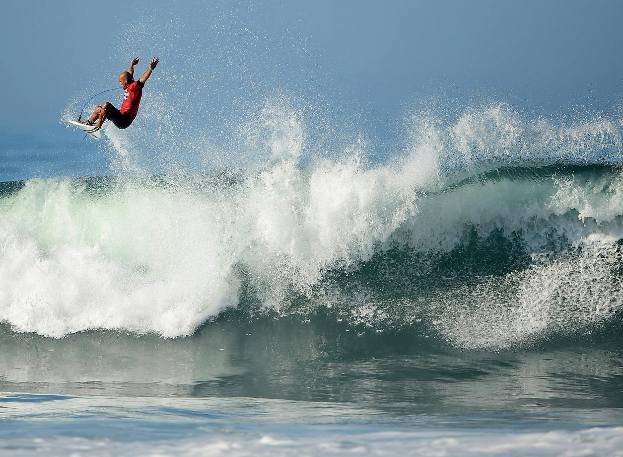 Kelly Slater, 11-time world champ.