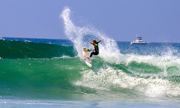 Sally Fitzgibbons at the Swatch Women's Pro