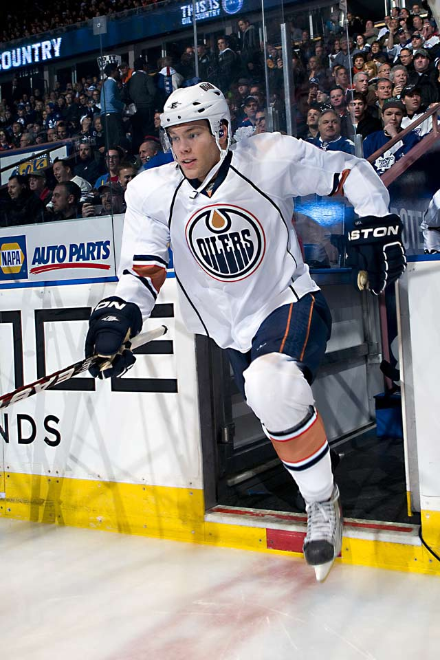 The big question on draft night 2010 was Taylor or Tyler (Seguin)? Hall, the big, speedy winger who'd posted 106 points in 57 OHL games, was the first pick. He went 22-20-42 in 65 games with struggling, rebuilding Edmonton, his season ended by an ankle sprain in March. The Calder was won by Carolina's 18-year-old Jeff Skinner (31-32-63), the seventh overall pick.