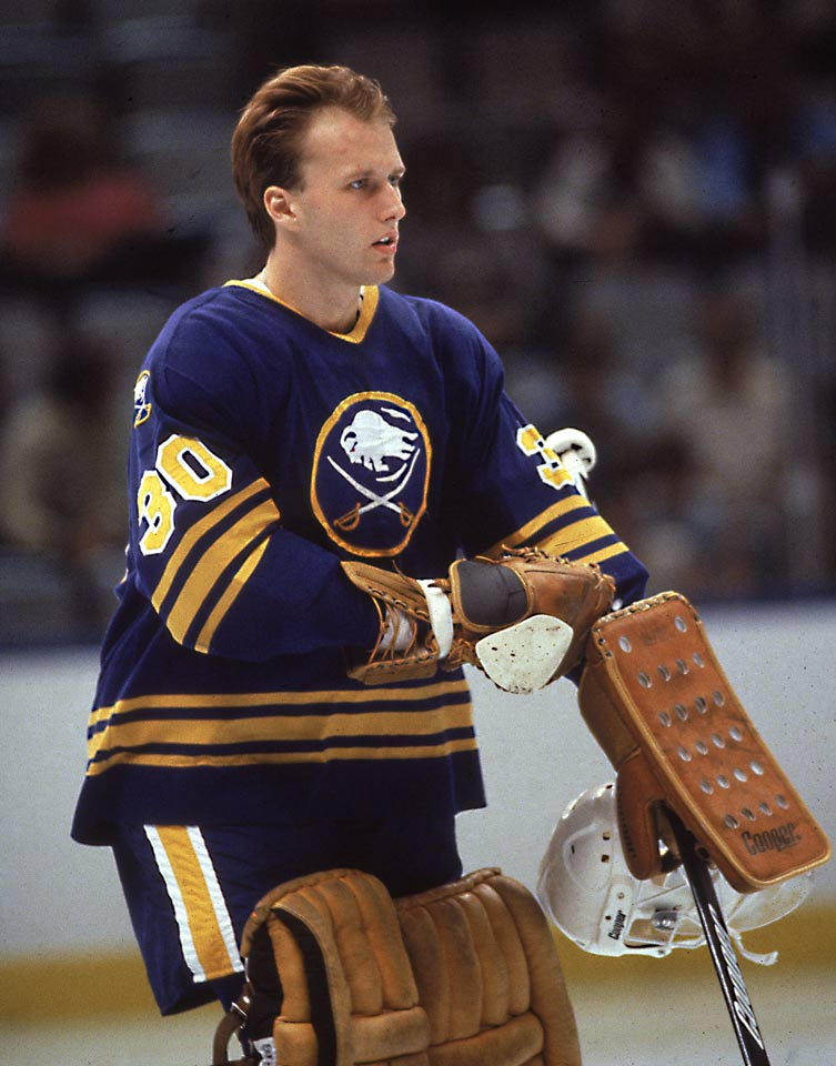 Entering the NHL out of high school, the fifth pick in the '83 draft became the first goalie to win the Calder since Canadiens legend Ken Dryden in 1972, going 26-12-3, with a 2.84 GAA and .893 save pct. in 42 games. His performance also earned him the Vezina, first team All-Star honors, and a spot on Team USA for the '84 Canada Cup tournament.