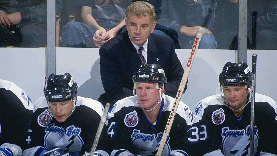 Veteran coach Terry Crisp guided his squad of cast-offs to a respectable 23-54-7 record during its first season.