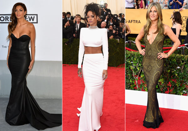 Nicole Scherzinger, Rihanna and Jennifer Aniston