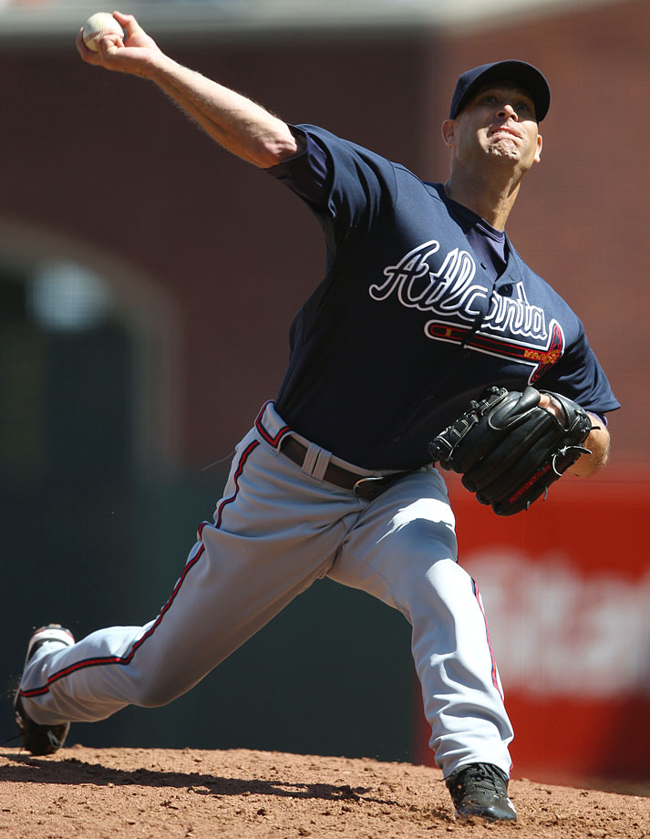 After winning at least 11 games in each of his first nine seasons, Hudson was sidelined by Tommy John surgery midway through the 2008 season. He returned in late 2009 and had seven promising starts, but it was in 2010 that he truly regained his form. Hudson went 17-9 with a 2.83 ERA, his best since 2003, and was named NL Comeback player of the year. Hudson won 16 games in both 2011 and '12.
