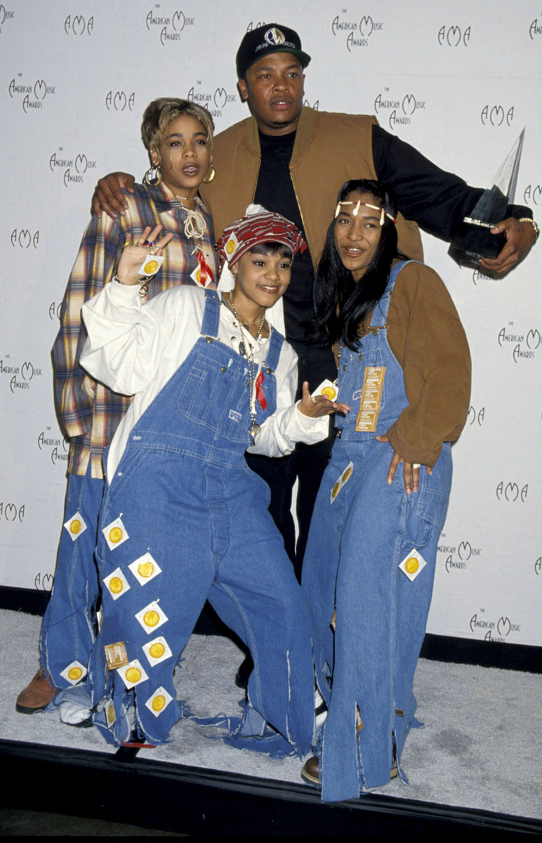 TLC and Dr Dre :: Getty Images