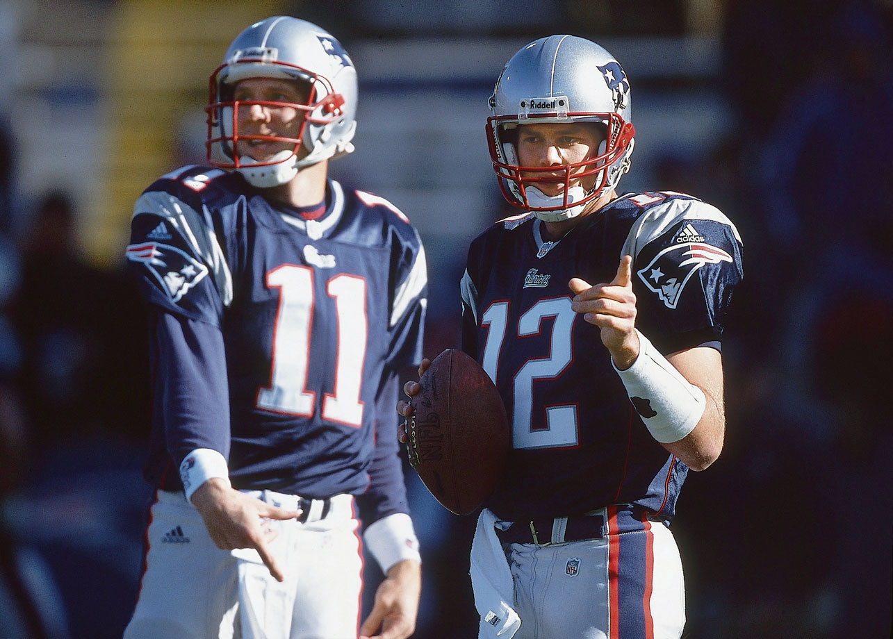 It may be hard to recall now, but Brady wasn't always the quarterback icon he is considered today. Head coach Bill Belichick had quite the quarterback controversy in 2001, when the second-year quarterback Brady shined while filling in for an injured Drew Bledsoe. After Brady led the Patriots to a 5-2 record following their 0-2 start under Bledsoe, Belichick stuck with Brady even after the three-time Pro Bowl incumbent was healthy again. Perhaps controversial at the time, the move clearly paid off for the Patriots.