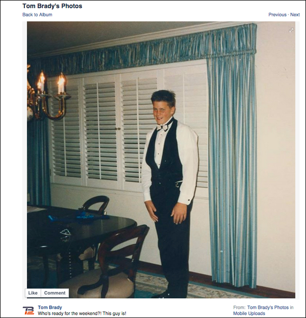 Tom Brady :: Facebook