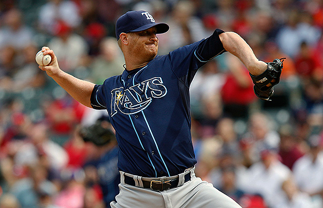 Tampa Bay Rays pitcher Alex Cobb (pictured) will undergo Tommy John Surgery to repair a torn ligament in his right elbow, ending his season. Cobb was slated to be Tampa Bay's Opening Day starter in spring training before injuring the elbow.