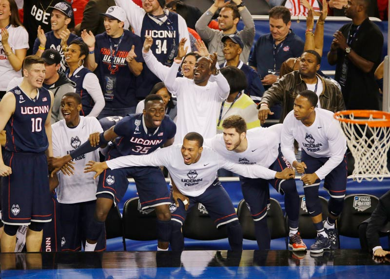 2014: No. 7 UConn defeats No. 1 Florida 63-53 in a national semifinal.
