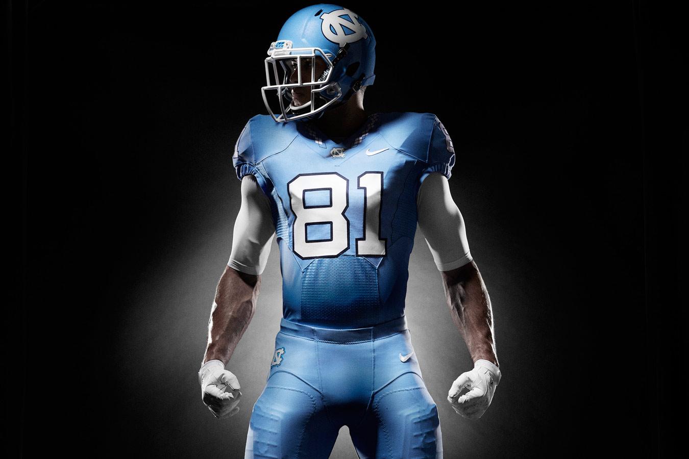 d213b10d118 North Carolina unveils new football uniforms