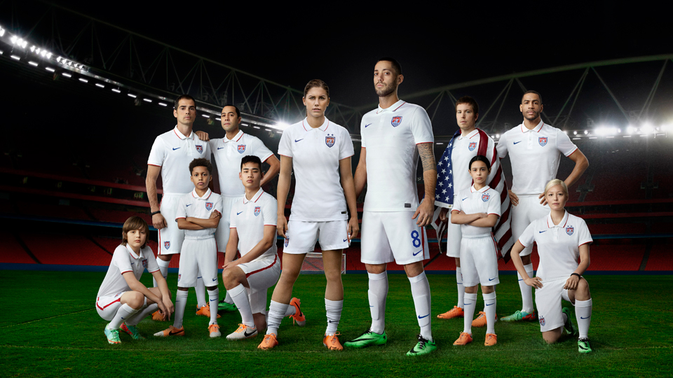 Nike, which landed 10 of the 32 nations for the World Cup, including the U.S., Portugal, England and the host team, Brazil, has created a fabric combination focused on cooling.