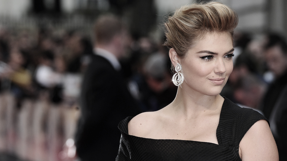Kate Upton at the UK premiere of The Other Woman