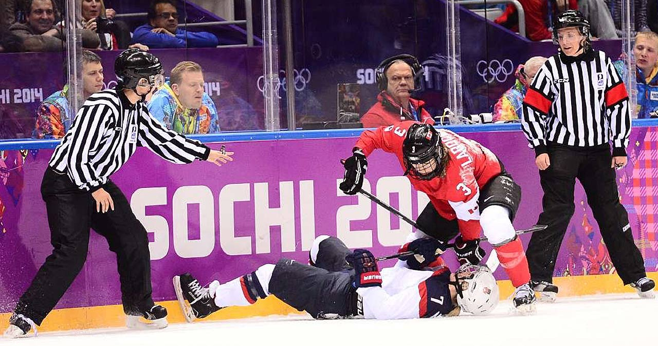 Canada took down the U.S. despite trailing 0-2 at one point.