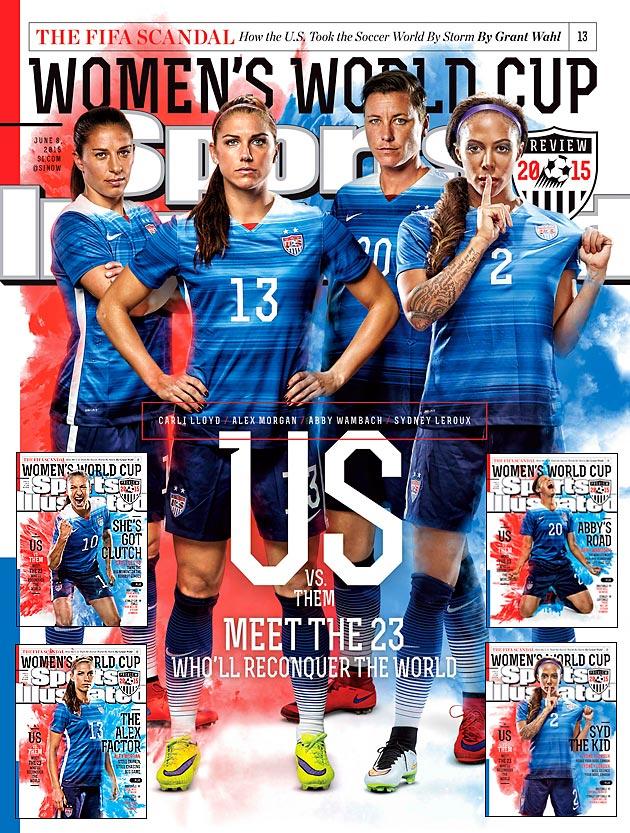 Sports Magazine Cover Team