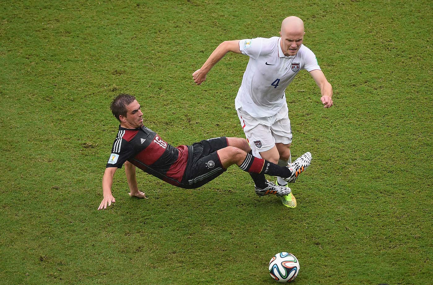 Michael Bradley didn't have the best of games but didn't make any costly mistakes either.