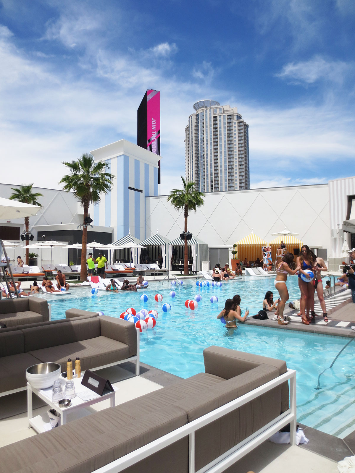 Foxtail Pool Club at SLS Las Vegas Hotel & Casino