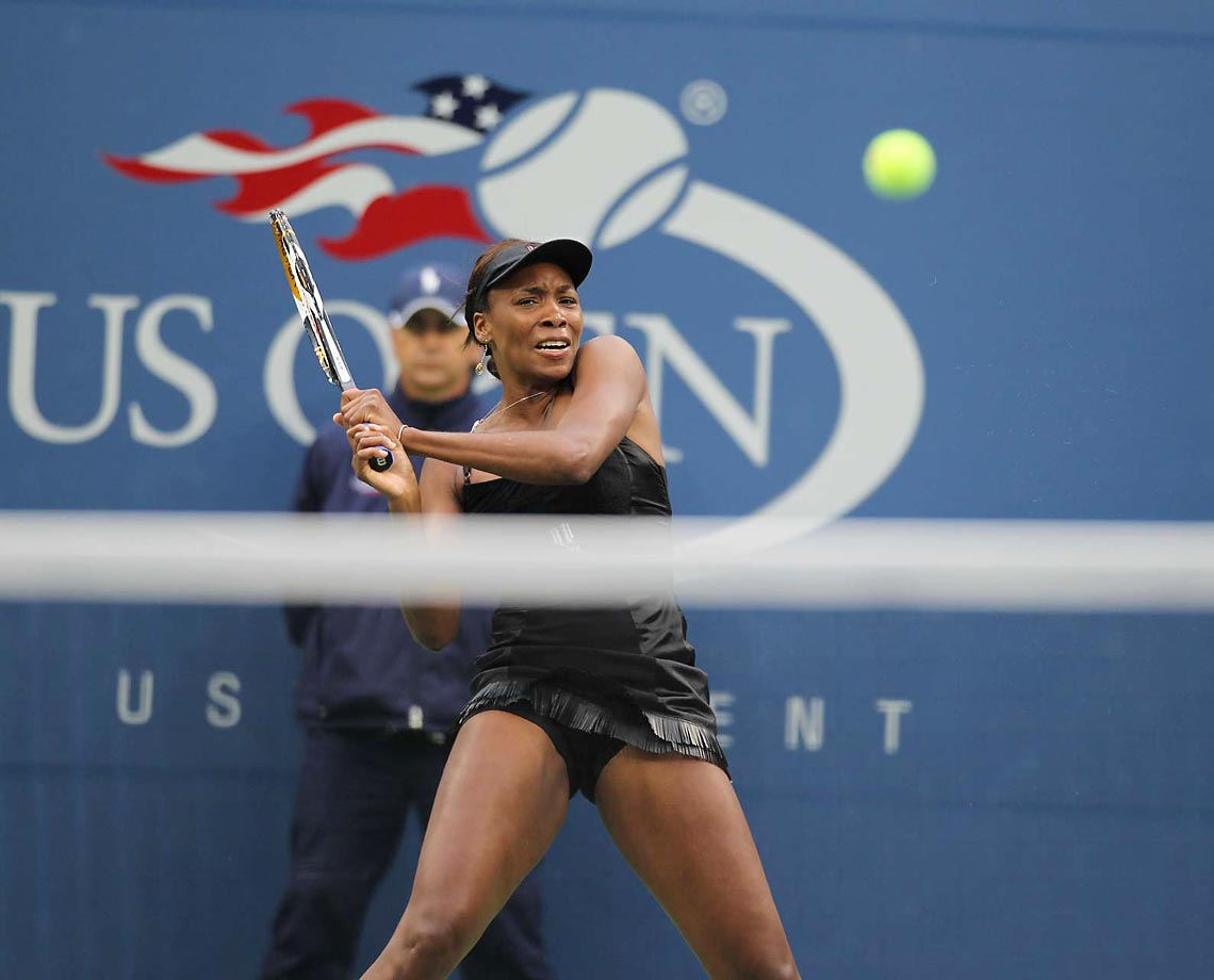 Williams took on Kim Clijsters in the semifinals of the 2010 U.S. Open, but Williams lost. And, after the tournament, a left knee injury made her sit out the rest of the year. Still, she joined Caroline Wozniacki as the only two women to reach at least the fourth round of all the Grand Slam tournaments.